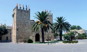 Historic fort in old town of Alcudia